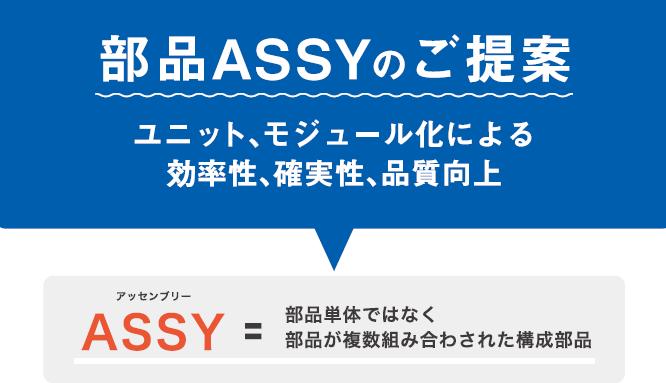 部品ASSY